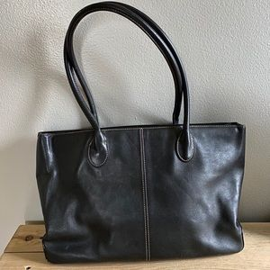J Crew Leather Tote - IMPERFECT
